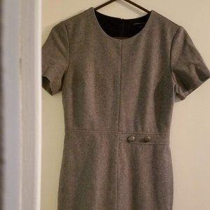 Banana Republic Wool Blend Short-Sleeved Dress